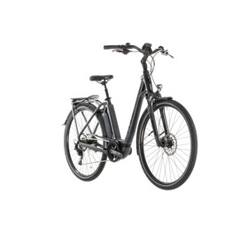 Cube Town Sport Hybrid Pro 500 E-City Bike Easy Entry grey